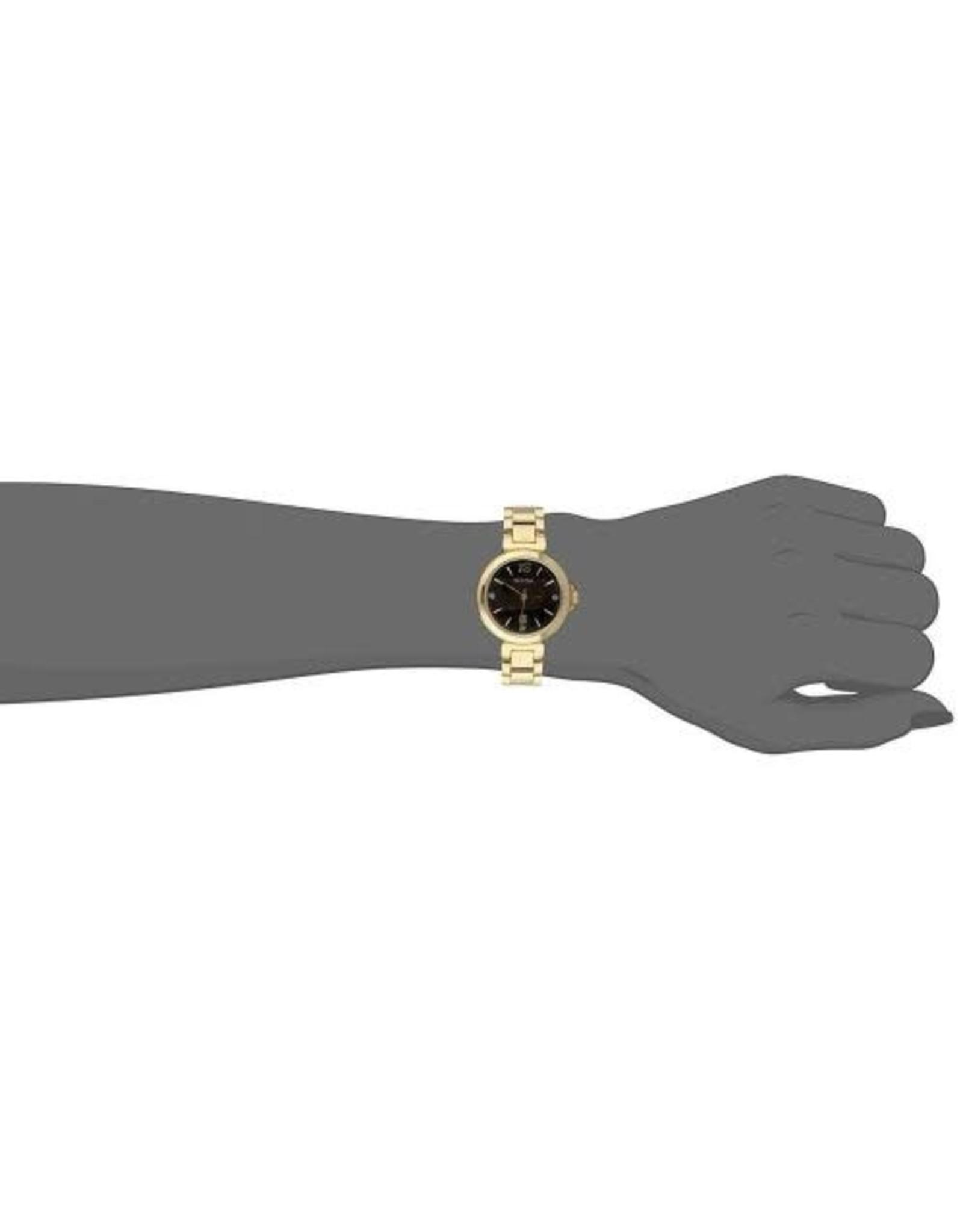 Ladies Bulova Diamond Accented Gold Tone Watch, 33mm