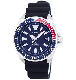 Mens Seiko Automatic Divers Watch with Silicone Band