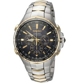 Mens Seiko Coutura Radio Sync Solar Two Tone Watch