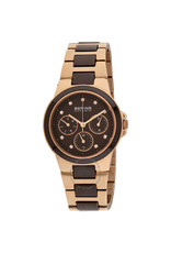 Rose Gold and Chocolate Ceramic Bering Watch