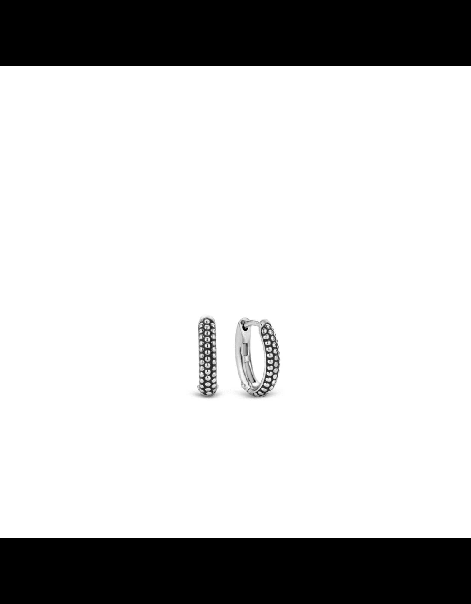 Silver Textured Bubble Huggies- 7759SB