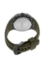 Mens Seiko Solar Chronograph Coutura Watch with Camo Green Dial, 45mm