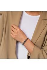 Twisted Textured Bangle Bracelet- 2815SB