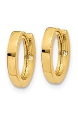 14K Yellow Gold Essential Huggie Earrings