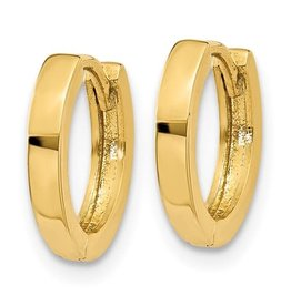 14K Y/G Essential Huggie Earrings