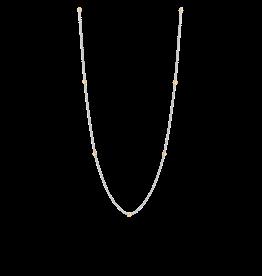 Two-Tone Minimalist Layering Necklace