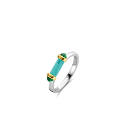 Turquoise Capsule Ring