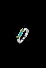 Turquoise Capsule Ring- 12224TQ/56