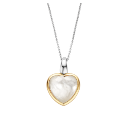 Mother of Pearl LOVE Heart