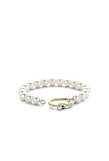 Pearl Bracelet with Golden Clasp- 2961PW