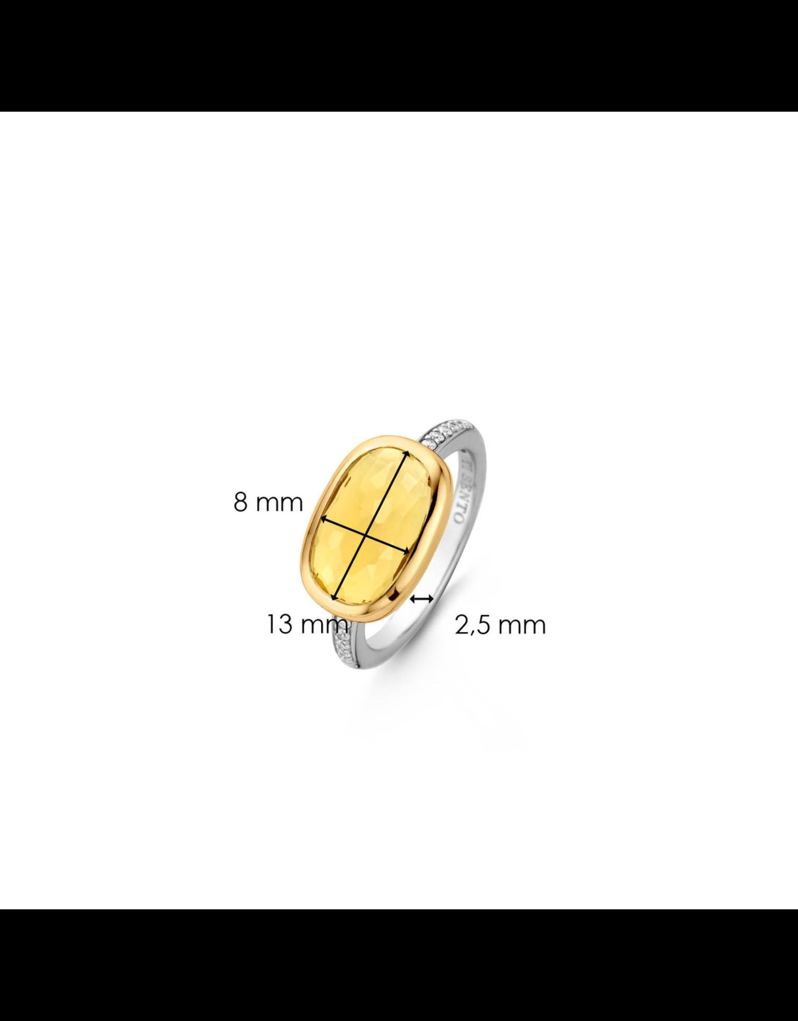 City Chic Yellow Ring-  12139TY/54