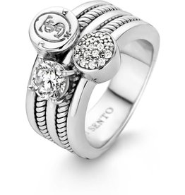 Iconic Ti Sento Signature Ring