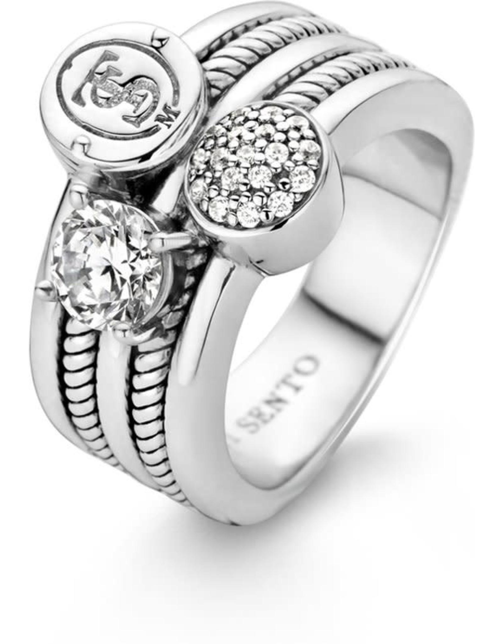 Iconic Ti Sento Signature Ring- 1931ZI