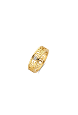 Yellow Gold Plated AMORE Ring- 12227ZY