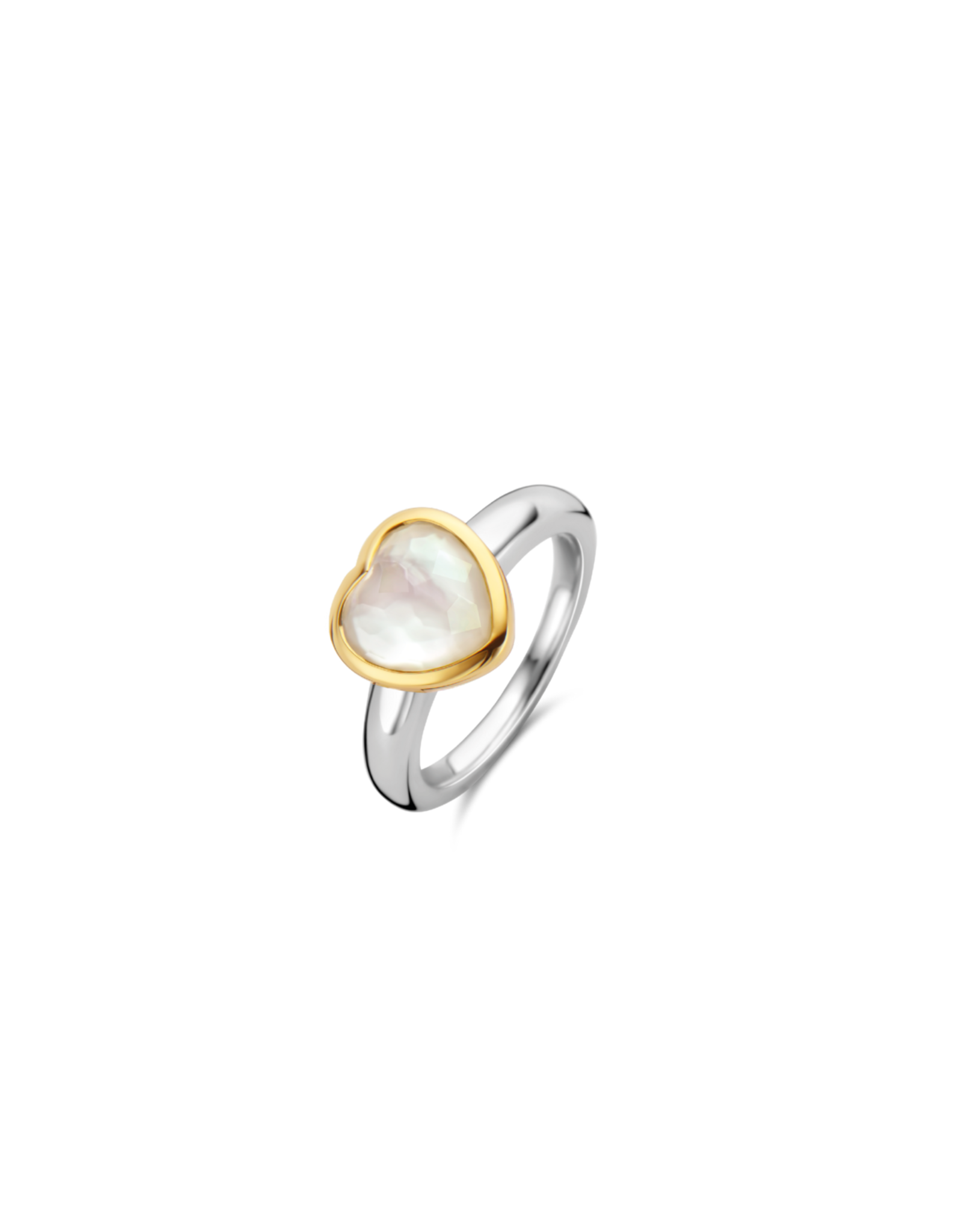 Mother of Pearl LOVE Ring- 12219MW
