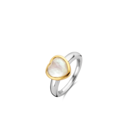 Mother of Pearl LOVE Ring