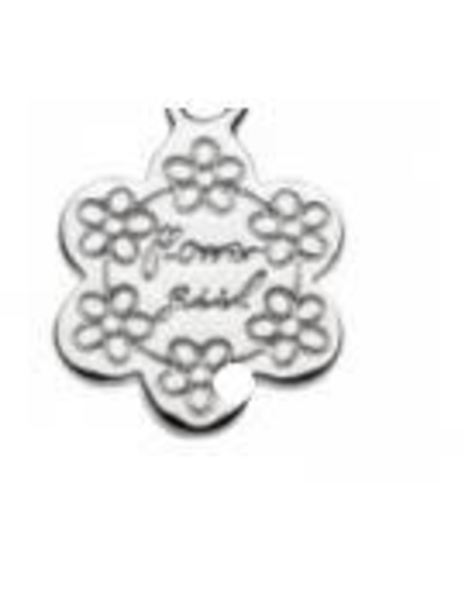 """Girls Silver Flower Girl Necklace with Freshwater Pearl Details, 14"""" - 16"""""""