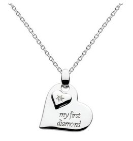 My First Diamond Heart Necklace