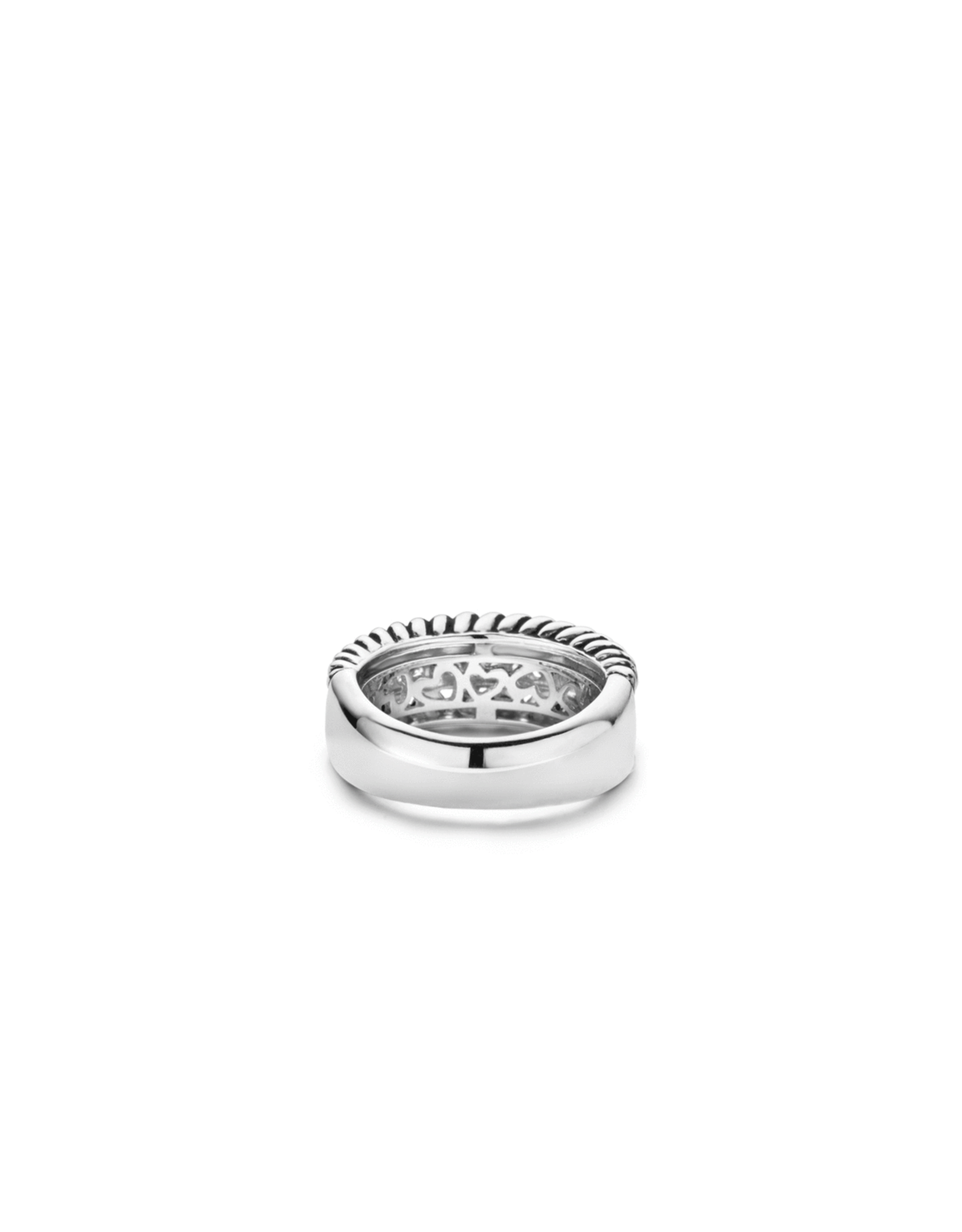 Triple Row Iconic Ti Sento Ring- 1836ZI/54