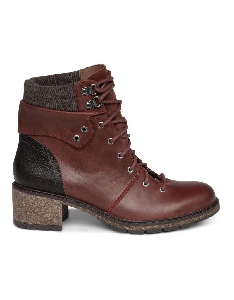 Aetrex Women's Aubry Lace Up Boot
