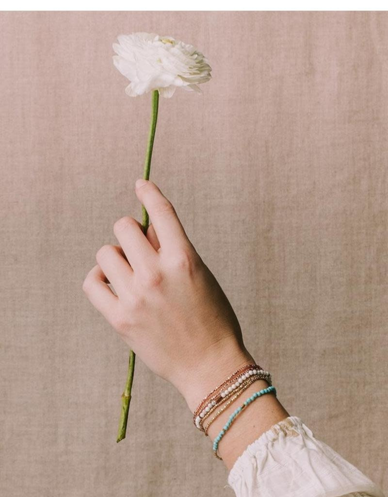Scout Curated Wears Delicate Stone Wrap