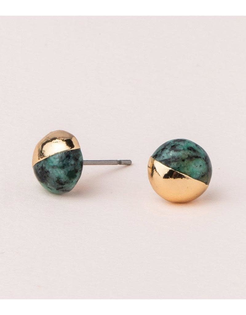 Scout Curated Wears Dipped Stone Stud