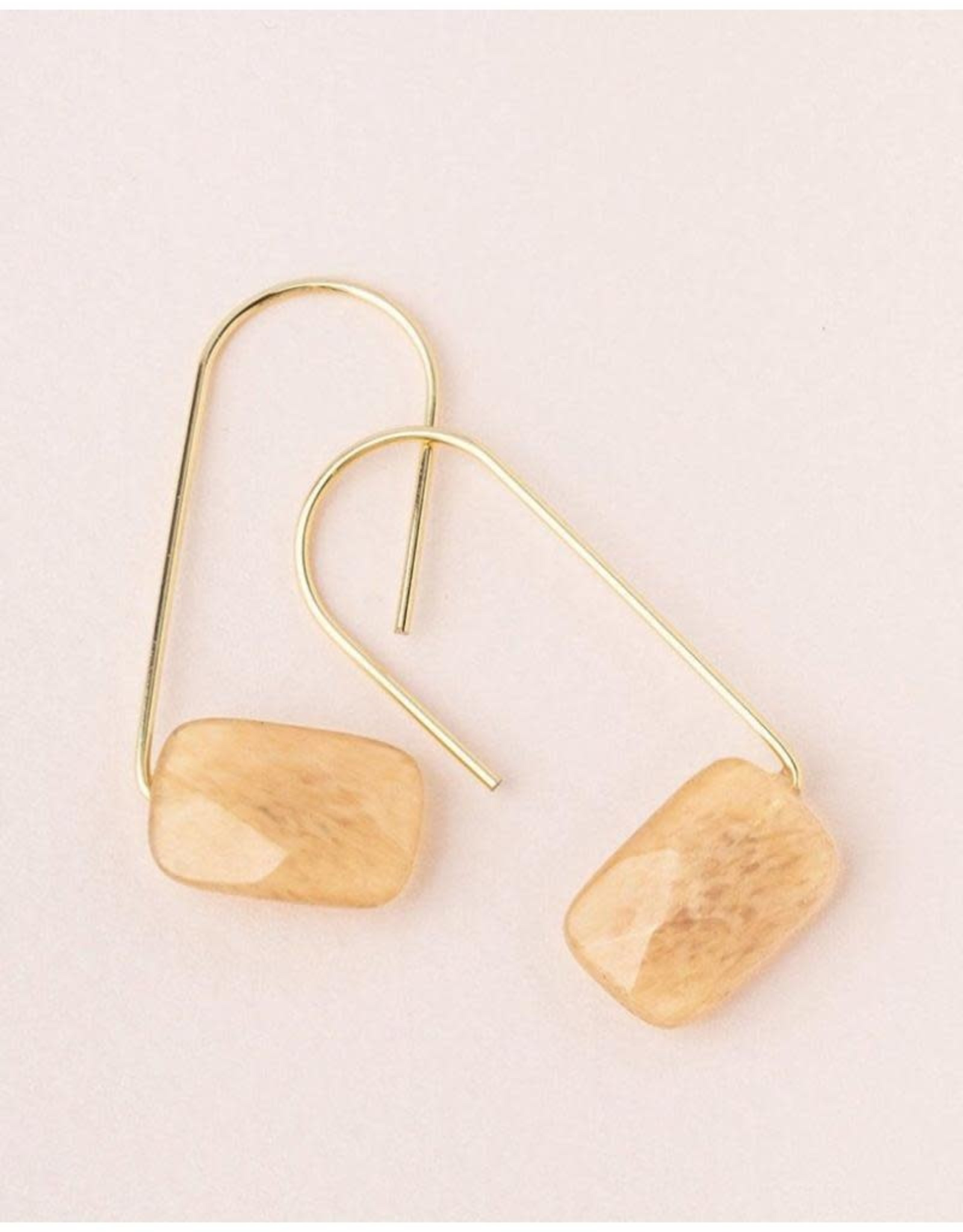 Scout Curated Wears Floating Stone Earrings