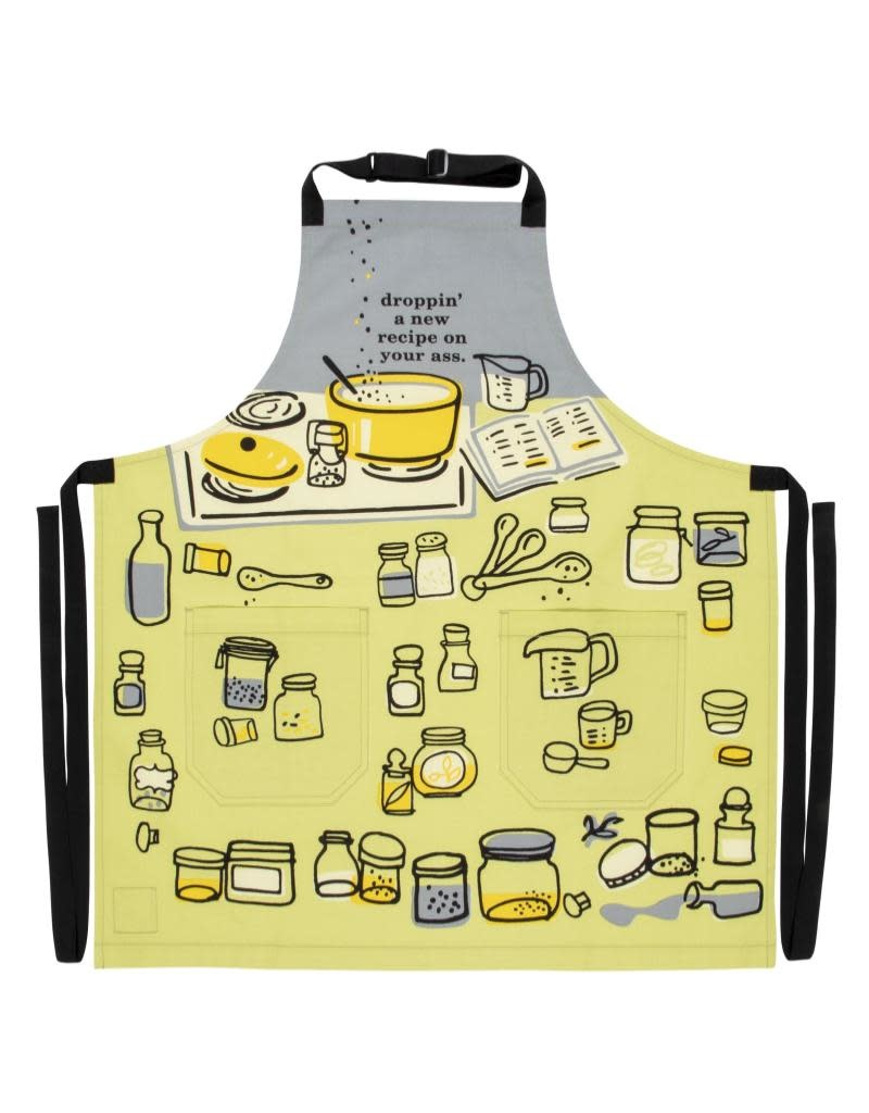 Blue Q Droppin' A Recipe on Your Ass Apron