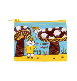 Blue Q Itty Bitty Budget Coin Purse