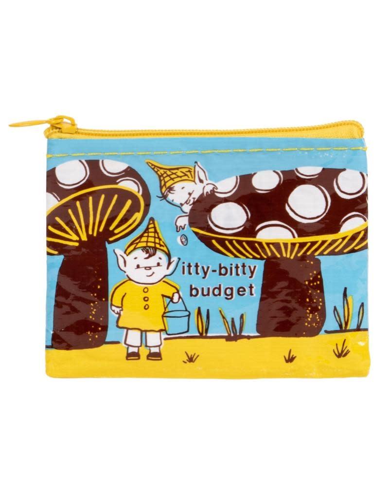 Blue Q Itty Bitty Budget Coin Purse