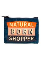 Blue Q Natural Born Shopper Coin Purse