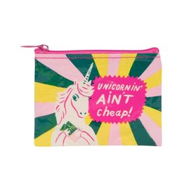 Blue Q Unicornin' Ain't Cheap Coin Purse
