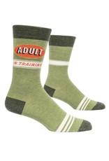 Blue Q Adult in Training Men's Crew Socks