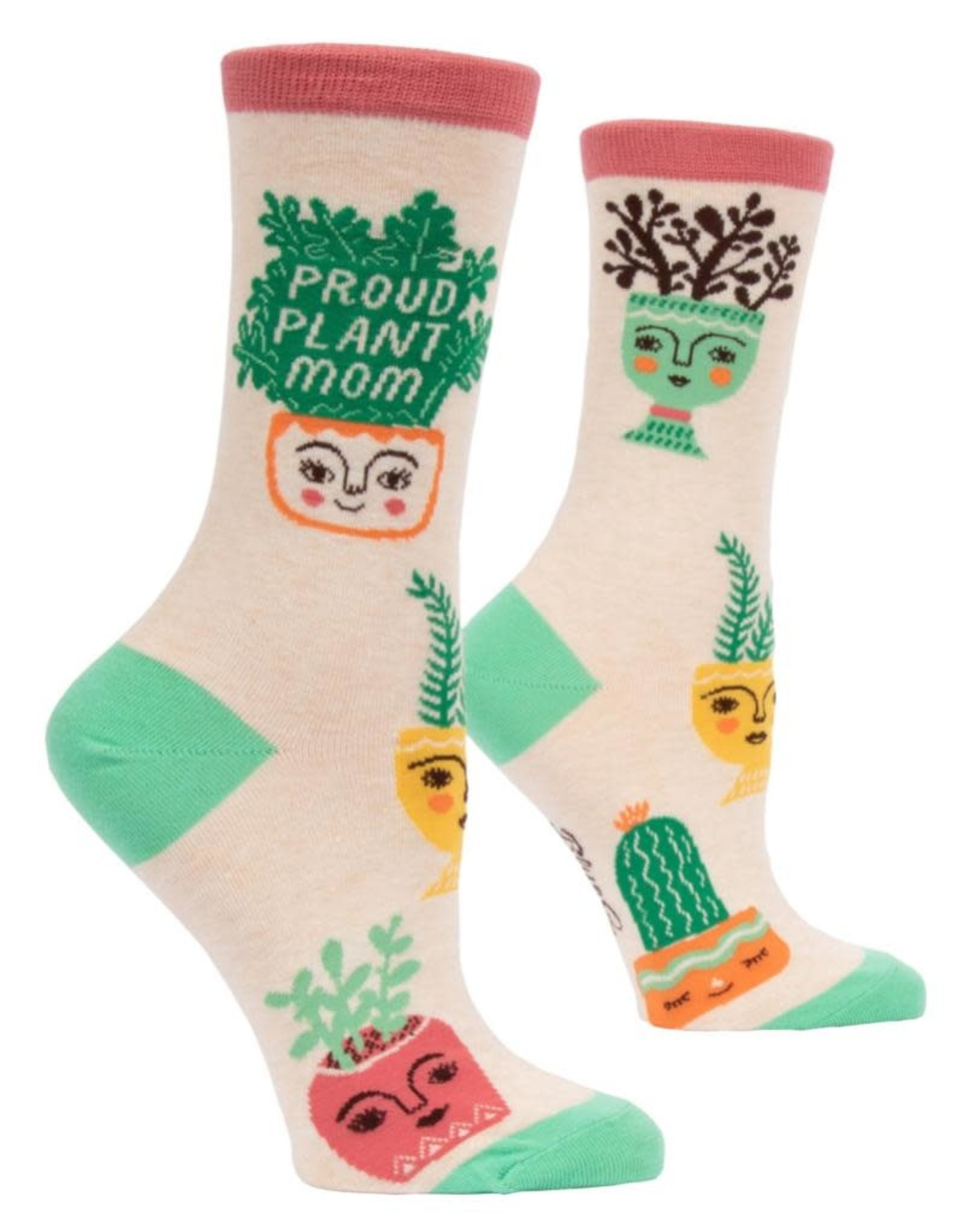 Blue Q Proud Plant Mom Women's Crew Socks