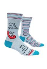 Blue Q One More Episode Men's Crew Socks