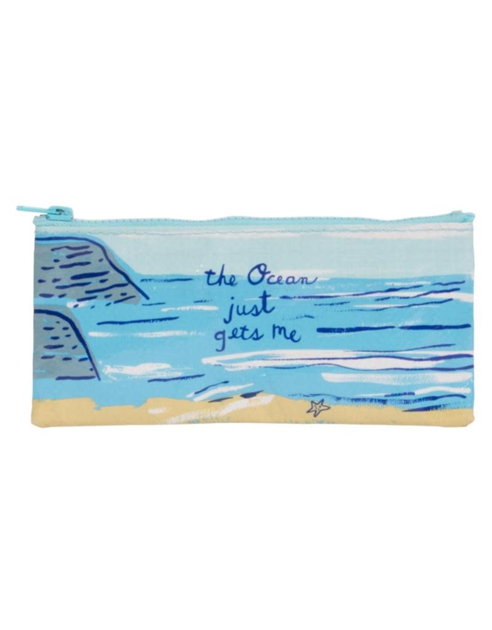 Blue Q The Ocean Gets Me Pencil Case