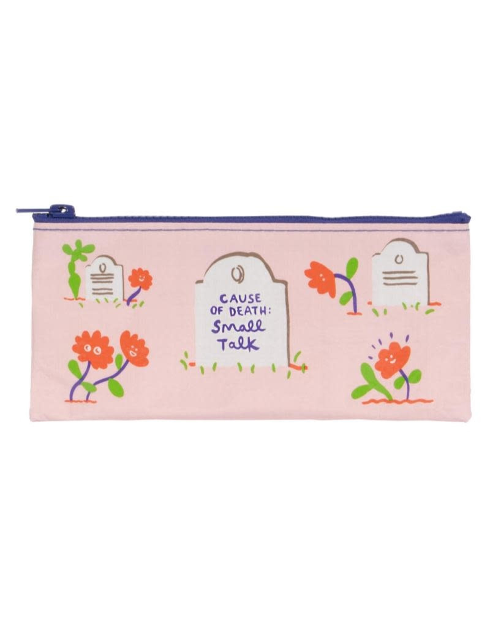 Blue Q Cause of Death: Small Talk Pencil Case