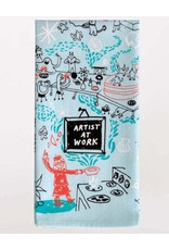 Blue Q Artist at Work Dishtowel