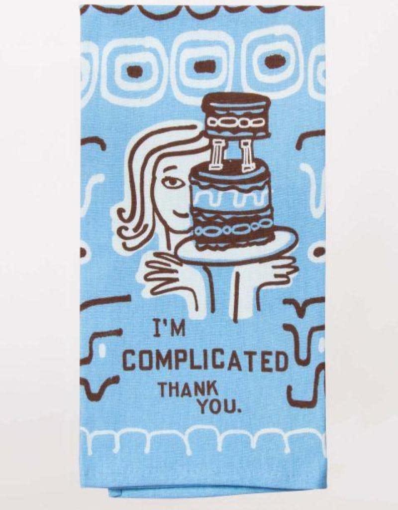 Blue Q I'm Complicated Dishtowel