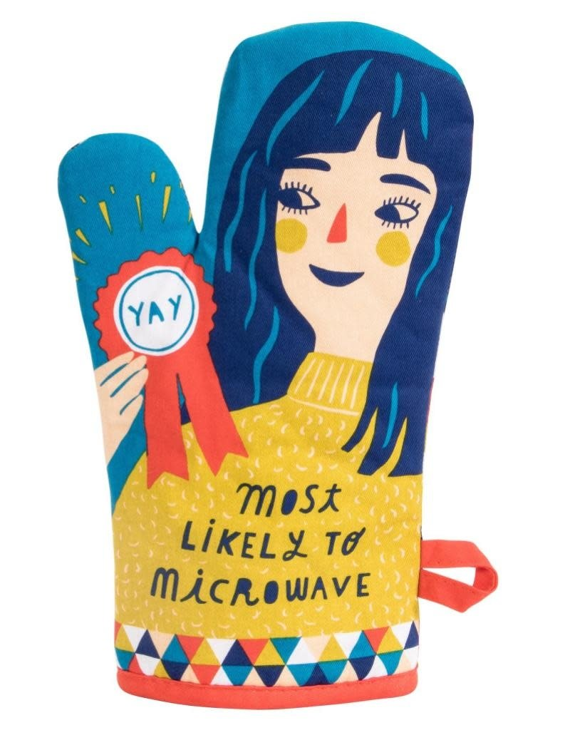 Blue Q Most Likely to Microwave Oven Mitt