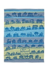 Blue Q Best Restaurant in Town Dishtowel