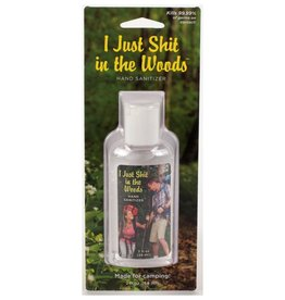 Blue Q Sh*t in the Woods Hand Sanitizer