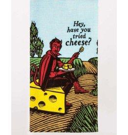 Blue Q Have You Tried Cheese Dishtowel