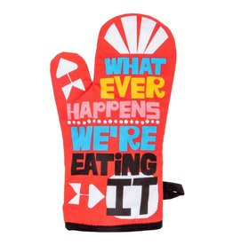 Blue Q Whatever Happens Oven Mitt
