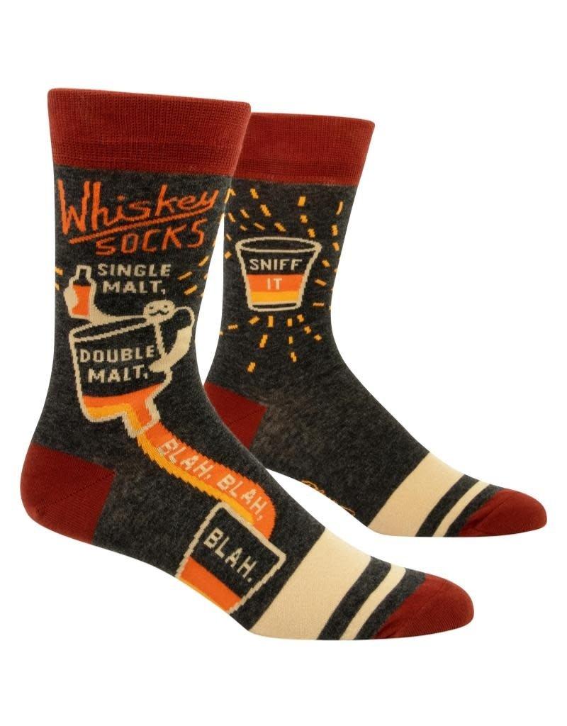 Blue Q Whiskey Socks Men's Crew Socks