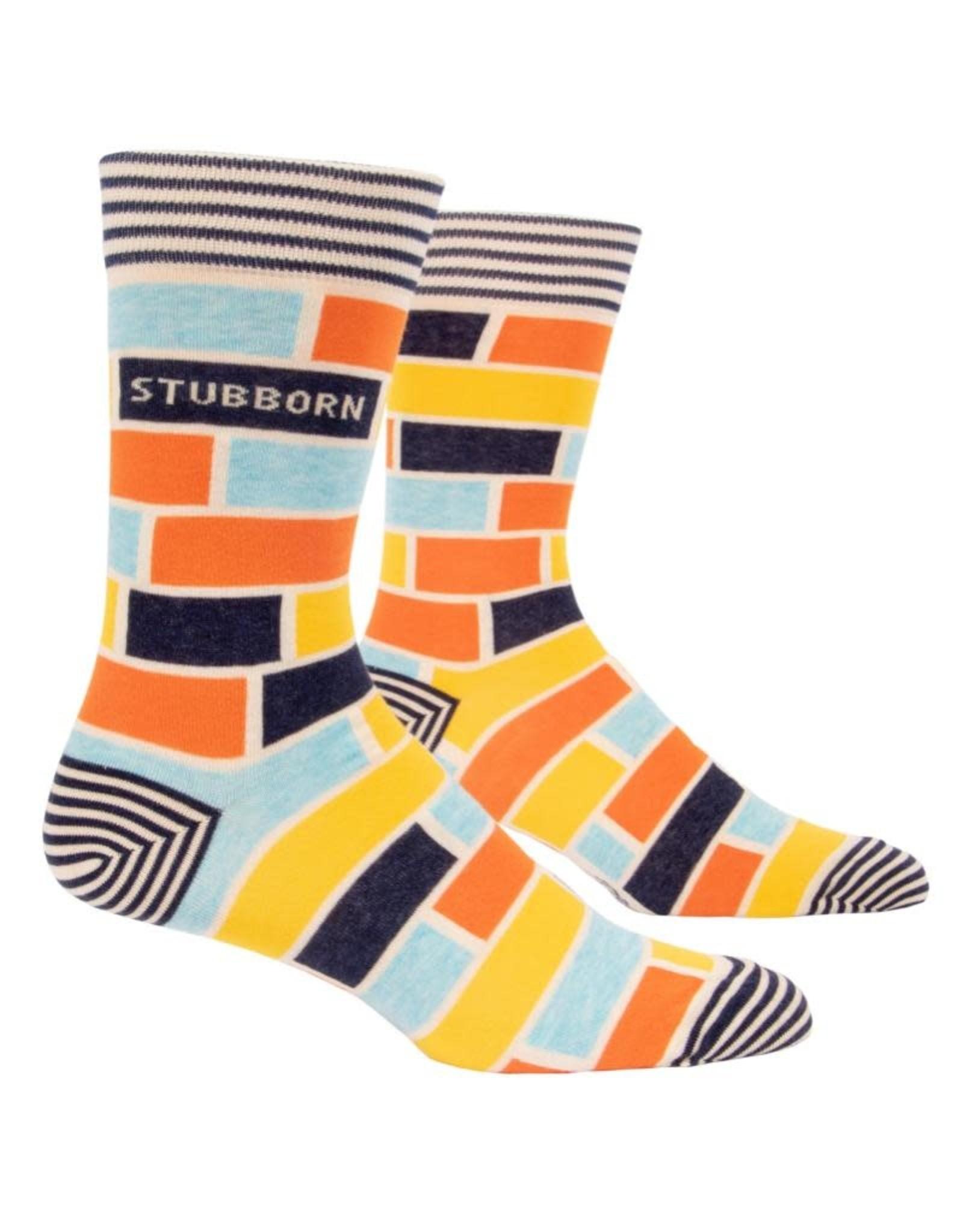 Blue Q Stubborn Men's Crew Socks