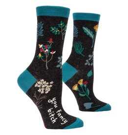 Blue Q You Fancy Bitch Women's Crew Socks