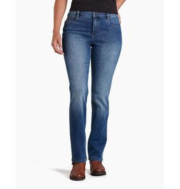 KUHL Women's Kontour Flex Denim Straight Jeans