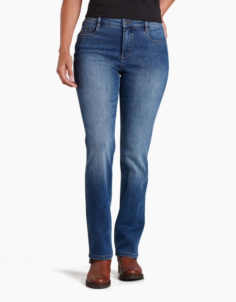 KUHL Women's Kontour Flex Denim Straight Jeans