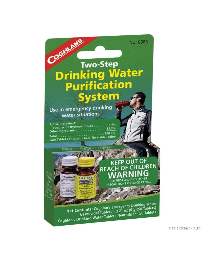 Coghlan's 2-Step Drinking Water Treatment
